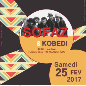 Sofz & Kobedi - 25 février