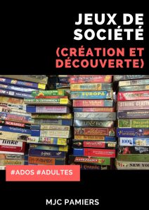 JEUX DE SOCIÉTÉ / ESCAPE GAME