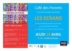 Café des Parents - LES ÉCRANS
