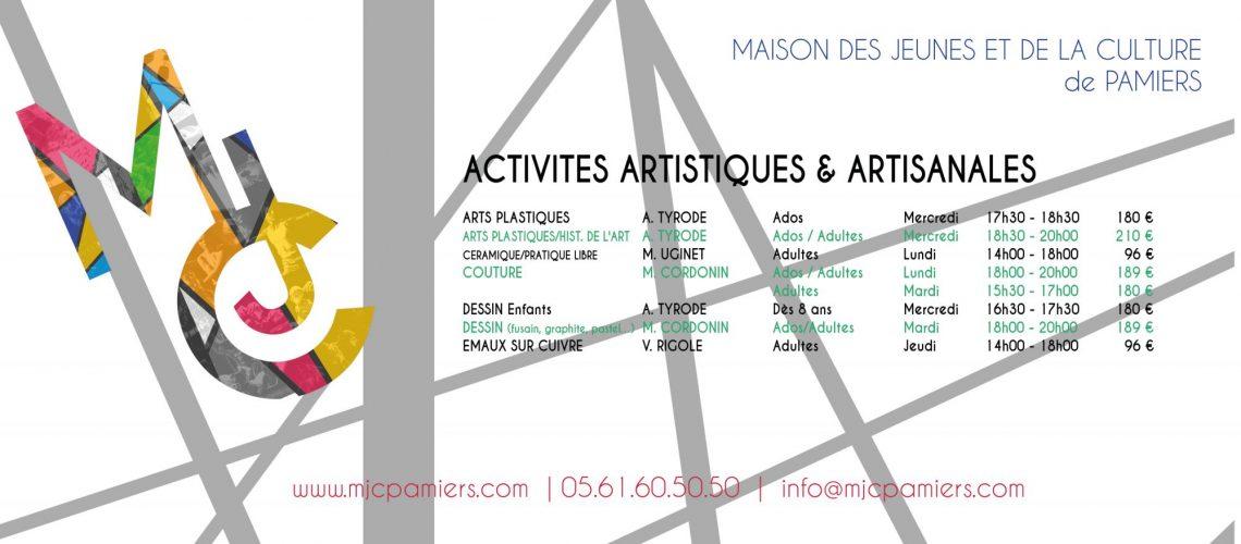 Activités Artistiques et Artisanales