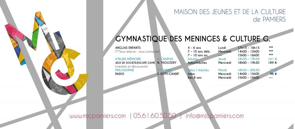 Gymnastique des Méninges et Culture G.